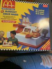 "1993 McDonalds's Happy Meal Magic ""McNugget Snack Maker""NIB By Mattel"