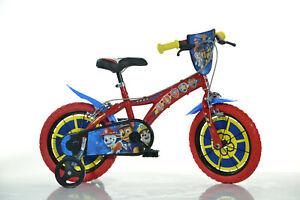 14 Zoll Kinderfahrrad Paw Patrol Original Lizenz Kinderrad Fahrrad Chase