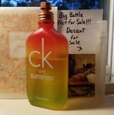 CK ONE Summer 2007 EDT~10ML Decant Travel Atomizer + FREE SHIPPING