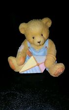"Cherished Teddies Mark Figurine ☆Retired☆ ""March"""