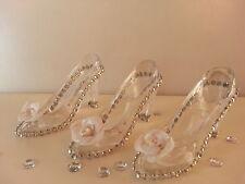 12 Fillable Cinderella Slipper Favors Sweet 16 Bridal Shower Wedding Quinceañera