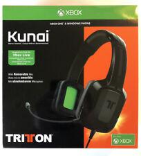 Tritton Kunai Xbox One & Windows Phone Black Stereo Gaming Headset Headphones