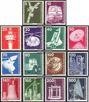 BRD (BR.Deutschland) 846-859 (kompl.Ausgabe) gestempelt 1975 Industrie und Techn