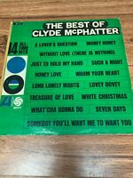 "CLYDE McPHATTER, The Best of 12"" 33rpm ATLANTIC Vinyl"