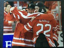 Team Canada Gold Jamie Benn Autographed Signed 11x14 Photo COA