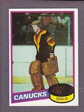 1980-81 Topps Hockey Glen Hanlon #141 Goalie Vancouver Canucks NMT+