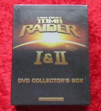 Lara Croft Tomb Raider I & II, 6 DVD Collector´s Box Limited Edition, Neu