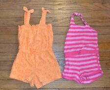 Lot of 2 Summer Rompers Jumpers Size 24 Months One Piece Summer Outfit Romper