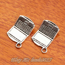 20pcs 21*13mm Charms Mini Computer Tibetan Silver Jewery Bracelet H7377