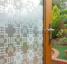 90 CM x 1 M - Versace  Removable Frosted Window Glass Film for privacy