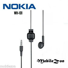 Nokia WH-101 3.5mm Headset Handsfree Earphones Headphones With Stereo Sound