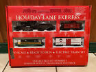 Vintage Macys Holiday Lane Express HO Model Train Set with Original Box