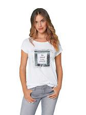Camiseta manga corta con vuelta mujer - 037148