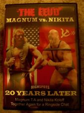 The Feud Magnum vs. Nikita 20 Years Later Shoot Interview Highspots DVD WCW WWE