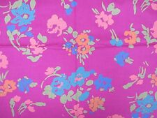 Vintage Flowered Fabric/ Material