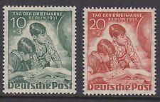 BERLIN : 1951 Stamp Day set  SGB80-1 mint