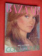 HARPER Bazaar Italia January February 1981 Isabelle Huppert Patrick Demarchelier