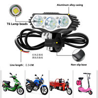 30W 4000LM Motorcycle LED Headlight Spot Work Light Offroad Driving Fog Lamp
