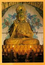 CHINA  VINTAGE POSTCARD  BUDDHA STATUE