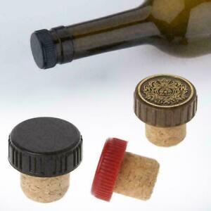 T Shaped Cork Stoppers Wine Bottle Bung Corks Craft Tie I1L4 Jars NEW Art J3W3