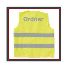 Warnweste Ordner - Messe - Veranstaltungen Sicherheit