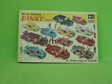 DINKY TOYS  3 CATALOGUS POCKET GUIDE CATALOGUE 1967      IN VERY GOOD CONDITION