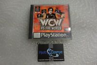 WCW vs the World - WRESTLING   PS1 PAL  playstation 1 sony gioco con manuale