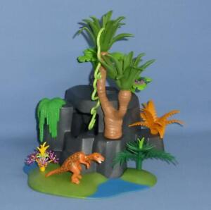 Playmobil Dinosaur Nursery / Nest / Cave & more - RARE Jurassic Scenery set