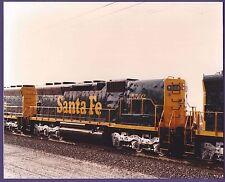 1983 Sante Fe ATSF SD45 Locomotive #5502 - Vintage Color Railroad Photo