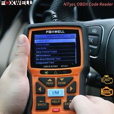 Foxwell NT301 Car Engine Diagnostic CAN OBDII/EOBD Fault Code Reader Scan Tool