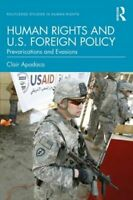 HUMAN RIGHTS AND U.S. FOREIGN POLICY NUOVO APODACA CLAIR (VIRGINIA TECH UNIVERSI
