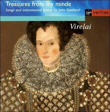 J. DOWLAND - Treasures From My Minde - Songs And Instrument Pieces By John VG