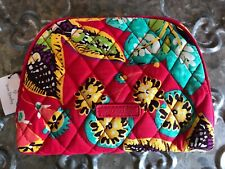 VERA BRADLEY~MEDIUM SIZE~ Zip Cosmetic Bag~RED RUMBA~Brand New with Tag!