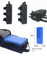 Electric Bike Bag Storage Bicycle Rear E-bike lithuim PVC 18650 Battery Pack