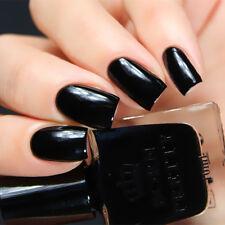 10ml BORN PRETTY Nail Polish Black Long-lasting Manicure Varnish Tips BPR007
