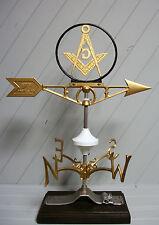 Masonic Weather Vane Mason Masons weathervane Robbins Lightning 601
