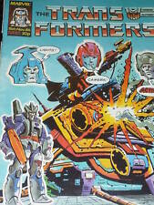 The TRANSFORMERS Comic - No 87 - Date 15/11/1986 - UK Marvel Paper Comic