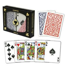Copag Bridge Size Regular Index 1546 Playing Cards (Red/Blue) New
