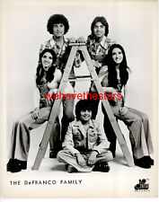 VINTAGE The DeFranco Family 70s POP GROUP Publicity Portrait