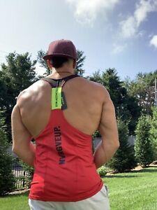 Bright Red GA Men's Stringer - Medium