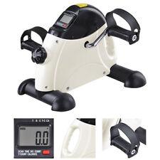 Portable Mini Pedal Exerciser Fitness Exercise Bike Cycle LCD Arm Leg Under Desk