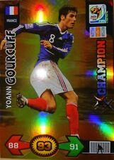 Yoann Gourcuff Champion Card Adrenalyn XL FIFA World Cup South Africa 2010 Rare