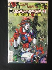 DC Harley Quinn and The Suicide Squad #1 Special Edition Signed By Alex Sinclair
