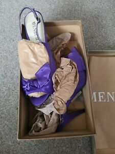 Menbur Rimini Ladies Purple Heels Shoes EU39