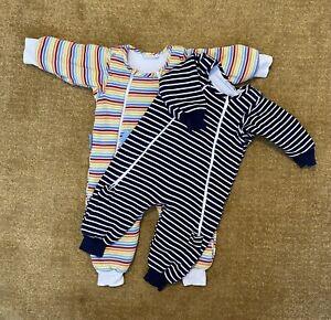 Jojo Maman Bebe 2.5 Tog Sleepsuits