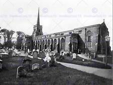 Lowestoft St. Margaret, Chiesa ENGLAND OLD BW FOTO STAMPA POSTER 1226bwb