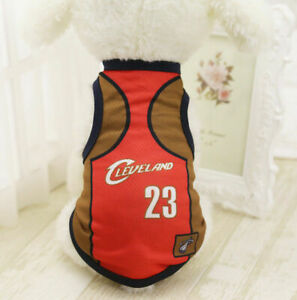 M Red23 Summer Pets Clothes Vest Coat T Shirt Jacket Clothing For Dogs Cats