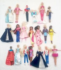 "MATTEL BARBIE DOLLS 4"" MCDONALDS & Other Dawn & More Some VINTAGE! Lot Of 20"