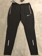"""Nike Flex Swift 27"""" Running Pants Dri-Fit Men's Sz Medium M Black 857840 010 NWT"""