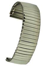 Flex-uhrband gorros de acero inoxidable pulido 18 mm Flexband relojes pulsera stretchband